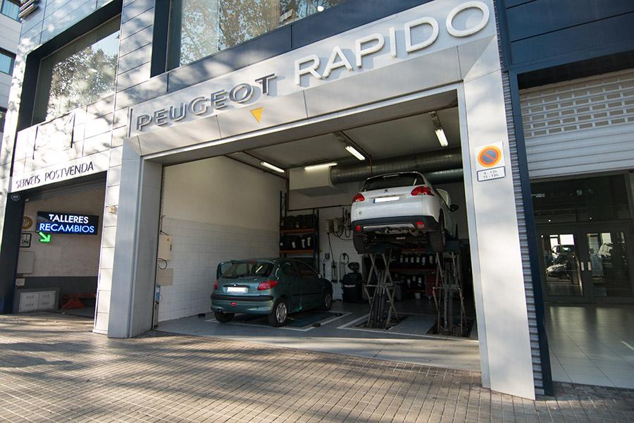 Taller peugeot la maquinista barcelona - Centro comercial maquinista barcelona ...