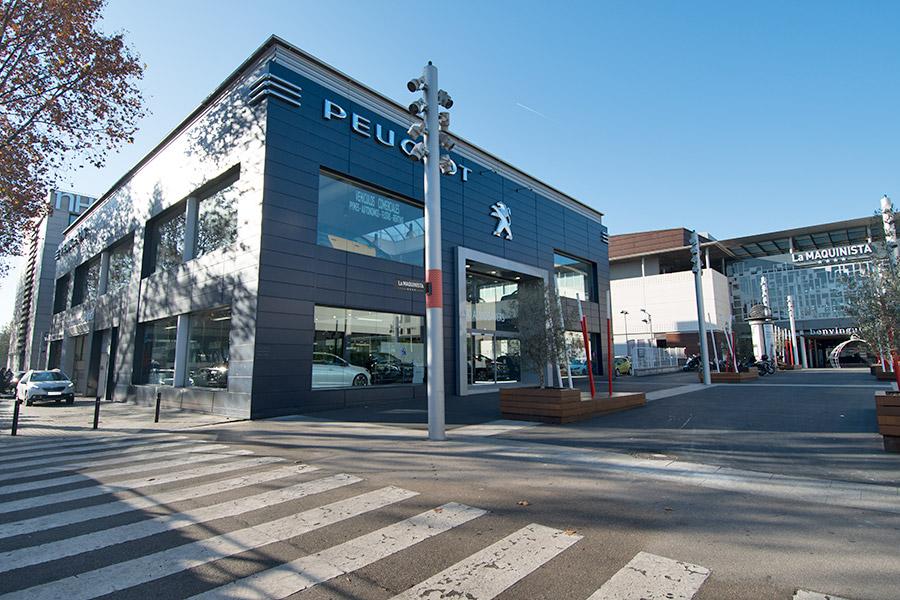 Concesionario peugeot la maquinista barcelona - Centro comercial maquinista barcelona ...